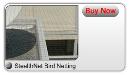 Nimby Pest Management - Bird Control - StealthNet Bird Netting